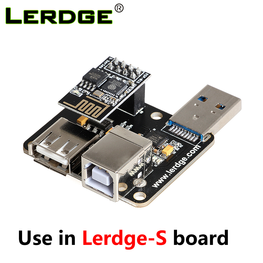 LERDGE 3D Printer Part USB Module PC-Linked Printing Module Online Print Use For Lerdge-S Motherboar