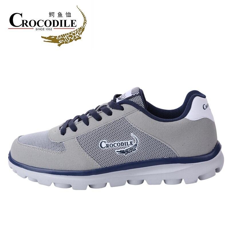 Крокодил для мужчин Run спортивная обувь мужской сетчатый набивочный материал обувь для прогулок мужчин спортивный бег трусцой Спортивная у...