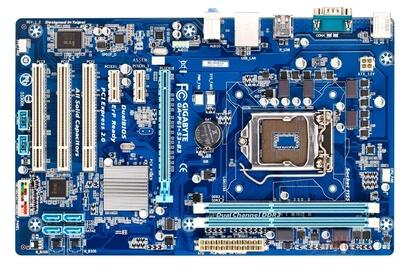 Original motherboard  GA-P61-S3-B3 boards 1155 DDR3 P61-S3-B3 mainboard 16GB H61 Free shipping