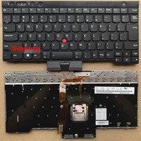 אנגלית מקלדת עבור Lenovo ThinkPad L530 T430 T430S X230 W530 T530 T530I T430I 04X1263 04W3048 04W3123 בריטניה UI