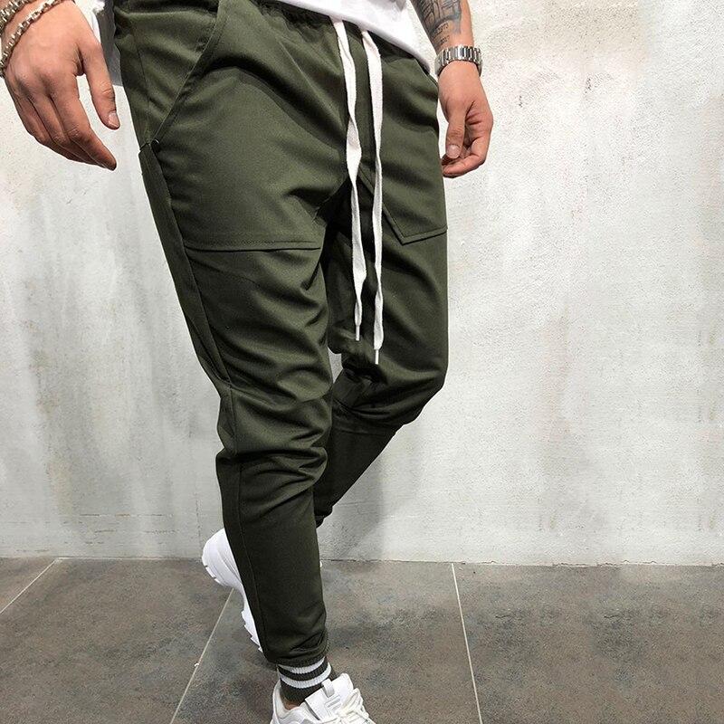 3dd42ba5d4 Huation 2019 Men Hip Hop Pants Sportswear Fitness JoggersTrousers Mens  Streetwear Track Pants Gyms Sweatpant pantalon hombre-in Sweatpants from  Men s ...