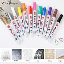 Цветной знак, водонепроницаемый протектор для автомобильных шин, CD металлический Перманентный маркер, граффити, маслянистый маркер, сделай сам, художественный маркер, канцелярские принадлежности
