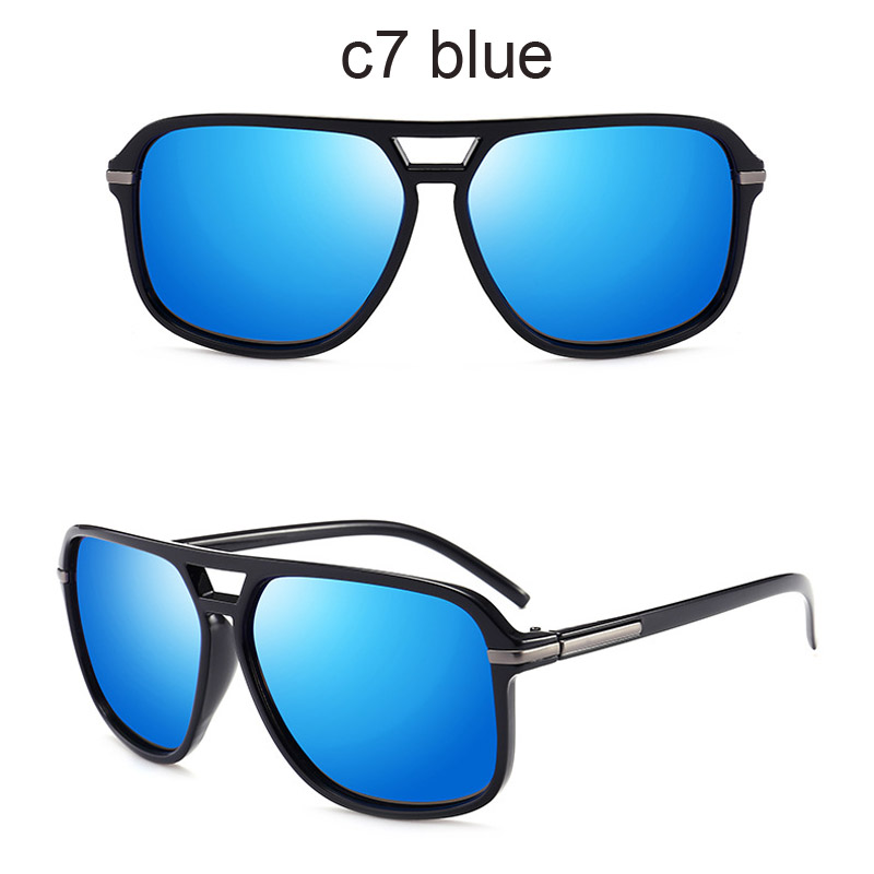 65bbaf16023a Detail Feedback Questions about Luxury Polarized Sunglasses Men Flat Top  Square Sun Glasses Mens Driving Shades Male Sports Fishing Goggles Oculos  on ...