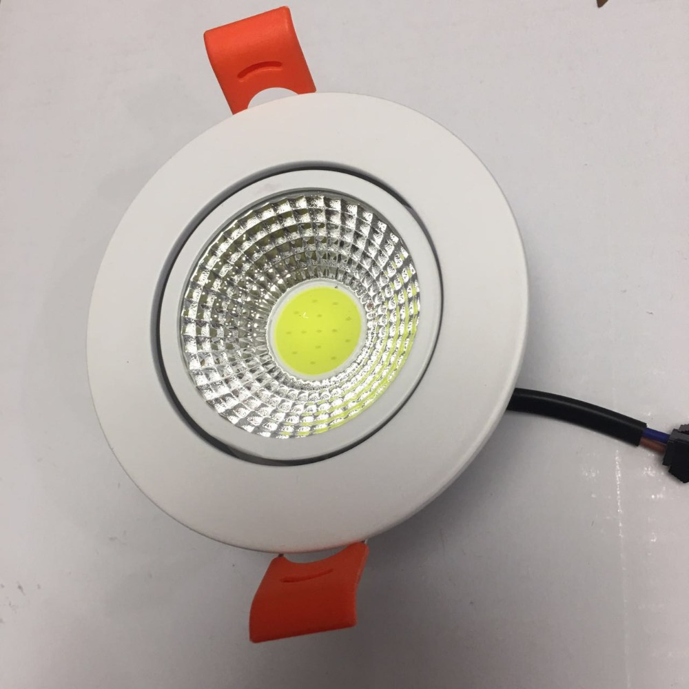 3w 5w 7w Downlight 10pcs/lot Led Ceining Epistar Chip Advantage Product High Quality Light 3 Years Warranty Time