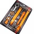 Profissional 12 pcs Conjunto Plástico Car Radio Porta Painel Clipe Traço Guarnição Remoção Áudio Pry Tool Set Kit de Reparação Ferramenta