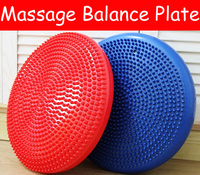 NEW PVC Massage Balance Board Plate Disc Piston Multifunction Double Indoor Yoga Gym Fitness Comprehensive Training