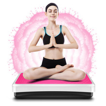 2018 Новый вибрации Фитнес Массажер для поддержания здоровья Фитнес оборудования для похудения Фитнес & Body Building розовый/черный увенчался