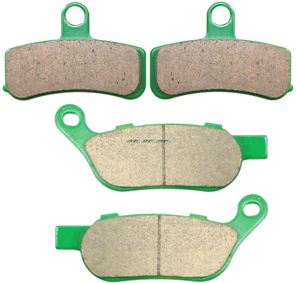 Acheter De Plaquettes de frein Pour Fxdl Low Rider (fonte Roue) 08 09/Fxdwg Wide Glide (Roue à rayons) 2008 & Up/Fxsb Évasion 2013 2014 de brake pad set fiable fournisseurs