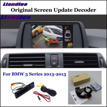 HD Reverse Reversing Parking Camera For BMW 3 Series F80 M3 F30 F31 F34 F35 G20 Front Rear View Backup Camera Decoder Accesories car rear view rearview backup camera for audi a1 8x 2010 2018 reverse reversing parking camera full hd ccd decoder accesories