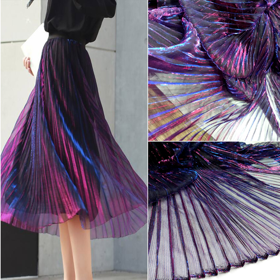 Wedding Gown Fabrics Guide: Evening Dress Fabric Party Gown Flashing Mesh Fabric
