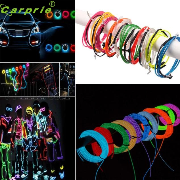 Auto Led for EL Wire Tube Rope Flexible Neon Glow Car Party Decor Light 12V controller 18Jun 21