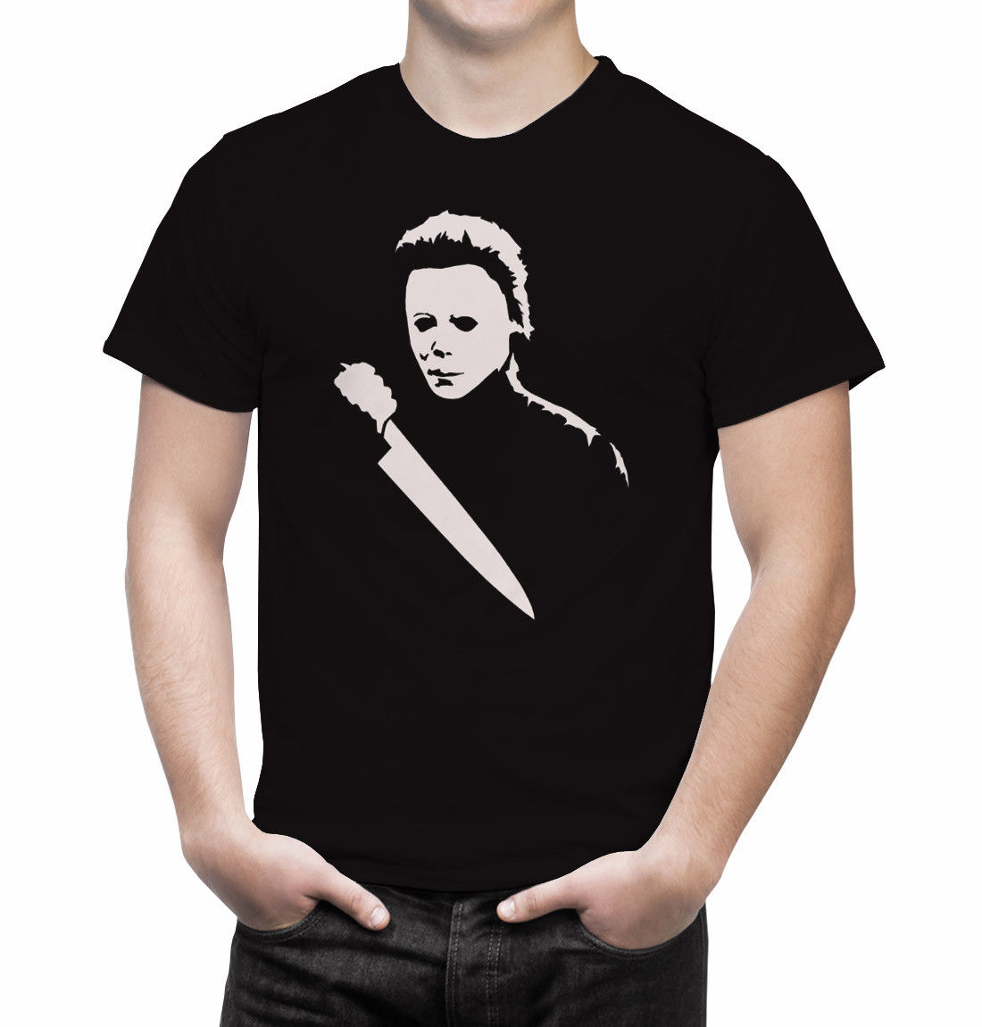 Halloween Michael Myers Horror Movie T Shirt