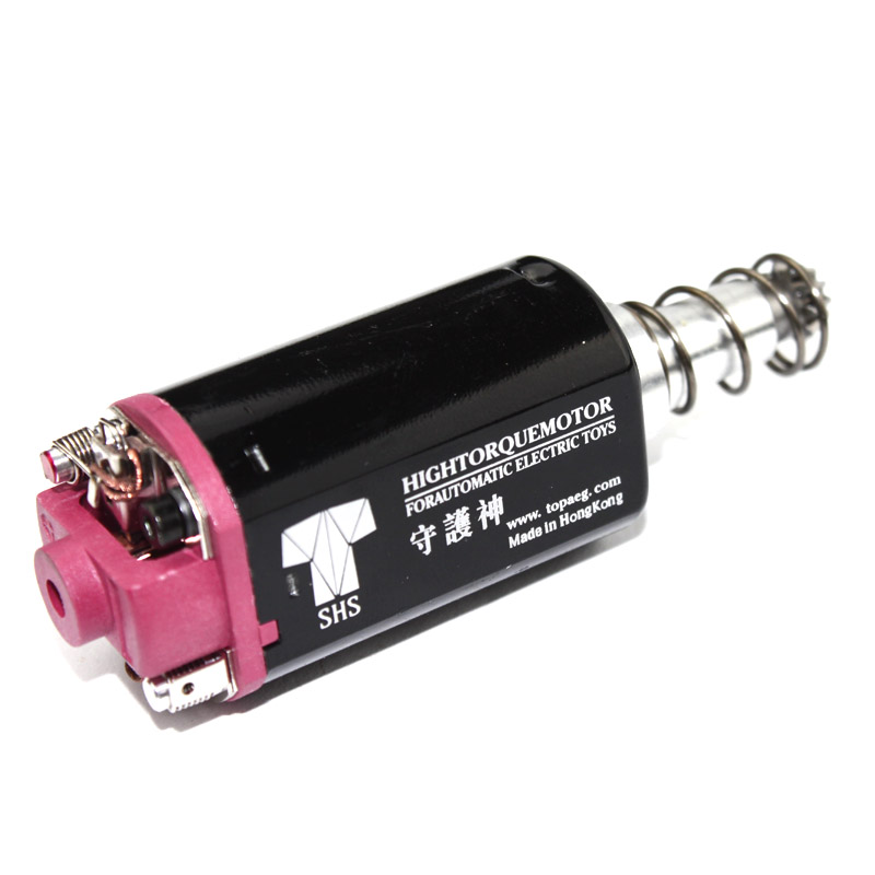 SHS High Torque AEG Motor Long type for Airsoft P90 /G3/ M4/M16/MP5 Ver.2 Gearbox free shipping