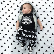 Baby boys t-shirt + long pants 2Pieces baby clothes children tracksuit 2016 summer baby girls clothing set roupa infantil menina