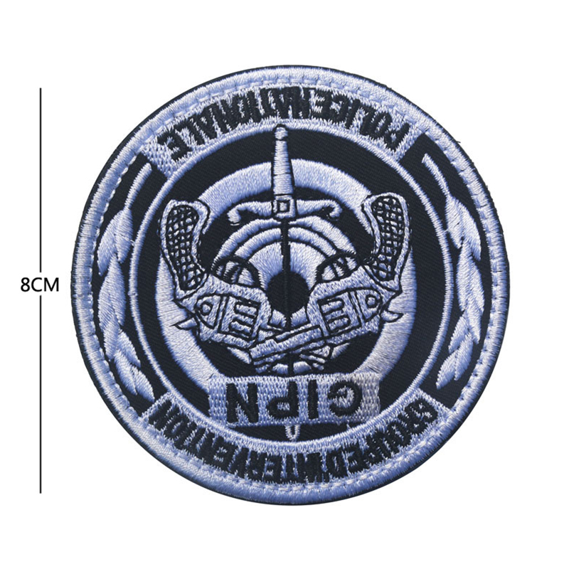 G I P N FRANCE NATIONALE POLICE GROUPE D/'INTERVENTION  PATCH