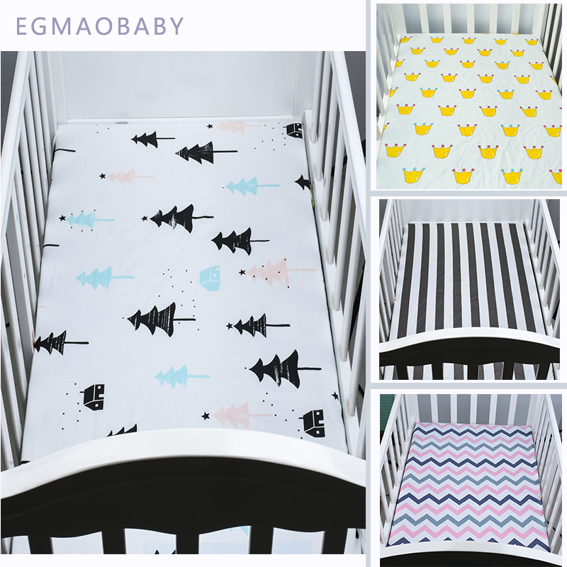 Pure cotton breathes the choice of thousands of families cotton Fitted Toddler Giirl or Boy <font><b>Bedding</b></font> Set 100% organil <font><b>Crib</b></font> Sheet