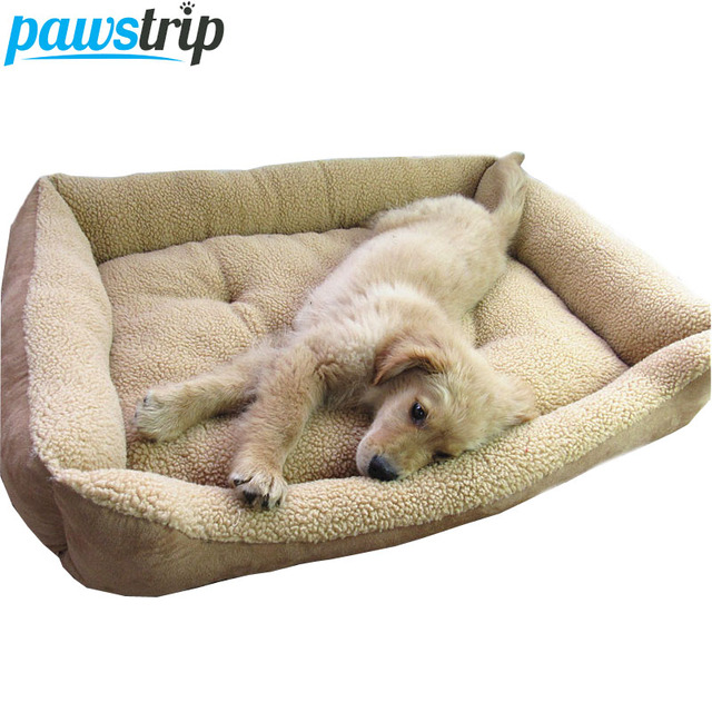 Extra Large Dog Bed Soft Berber Fleece Puppy Cushion Winter Warm Pet