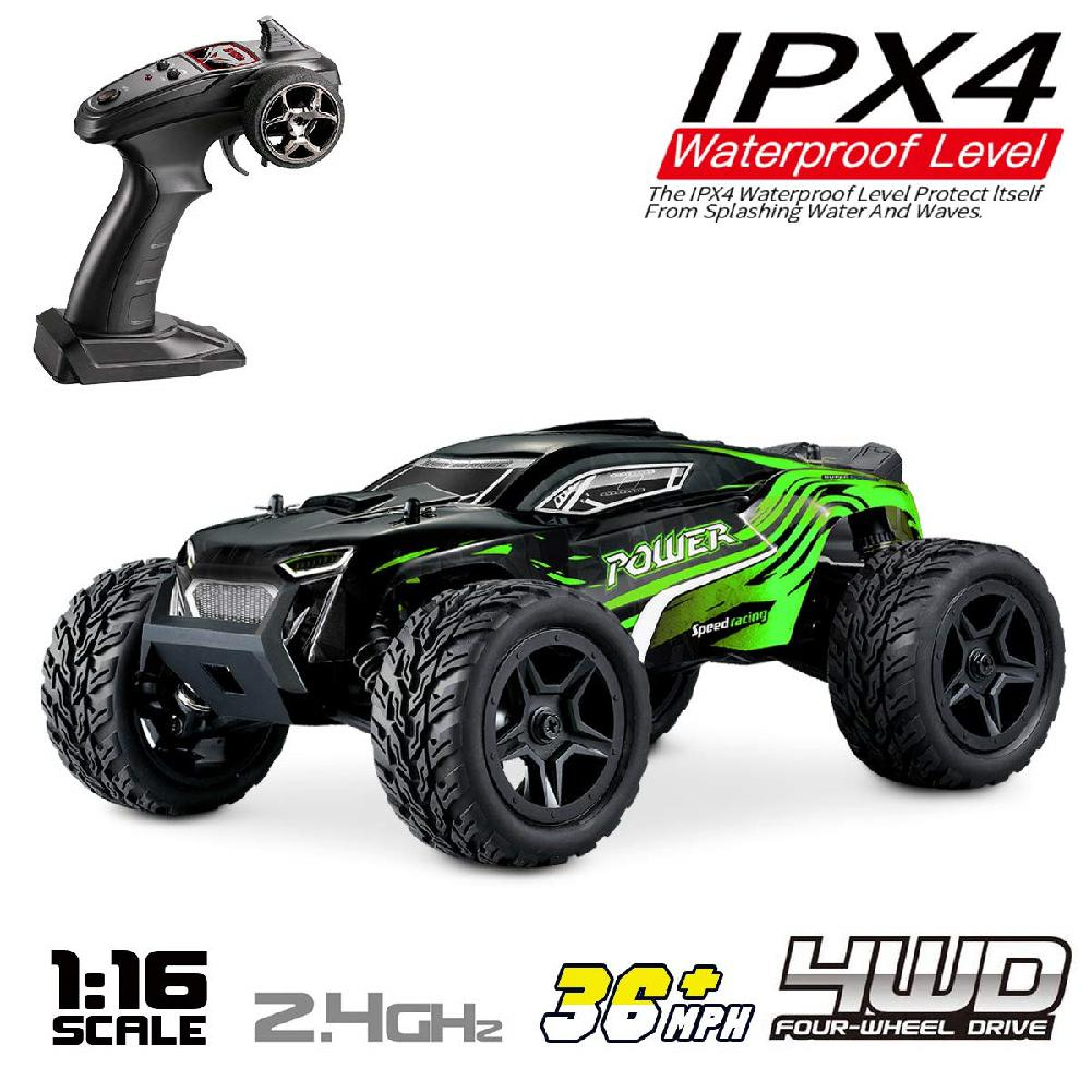 G172 Remote Control 1:16 High Speed 2.4G Four-wheel Drive Climbing Car Toy for Kids Boys 40km/h RC Car Kids Toys