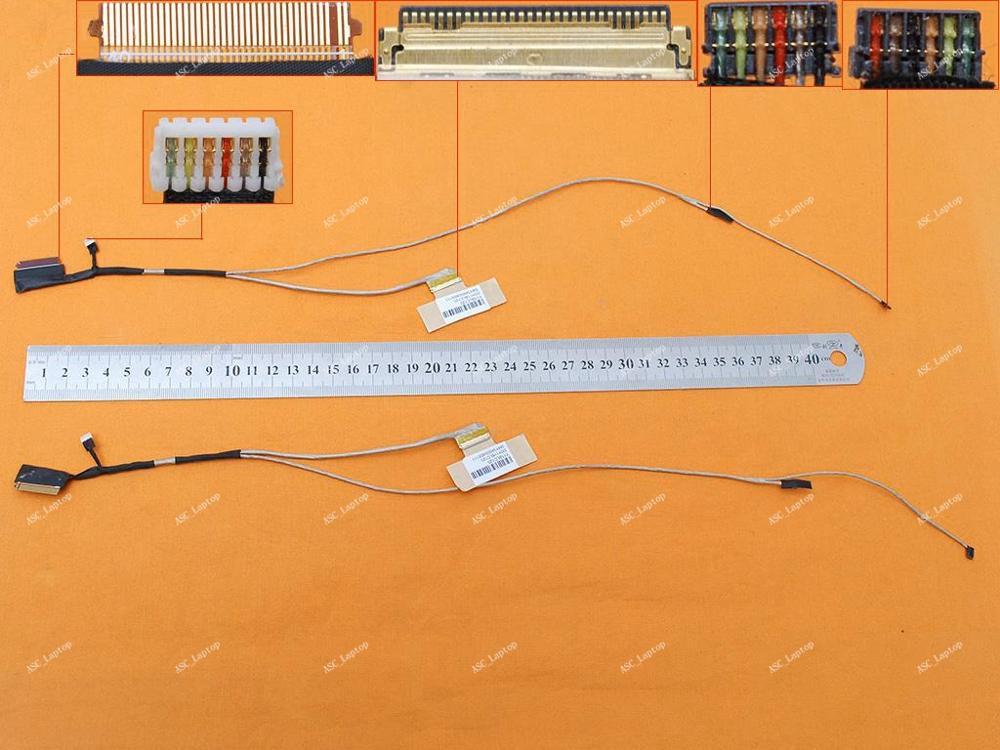 Cable Length: Other Computer Cables Original LCD LED Video Flex Cable for HP Pavilion 14-V 14-V014TX 14-v011TX Envy 14-U 30pin with Touch Laptop DDY11BLC120