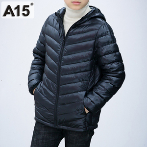 Image 1 - A15 Children Clothing Boys Winter Jacket 2019 Brand Hooded Kids Girls Winter Coat Long Sleeve Warm Parka Outwears Big 10 12 Year