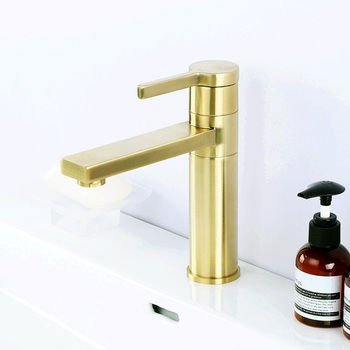 Brushed Gold/Black/Gold Rotation Basin Faucet Brass Bathroom Hot And Cold Water Mixer Tap Single Handle Deck Mounted dofaso ktiche black brass sink faucet single handle mixer tap hot and cold bathroom basin faucet