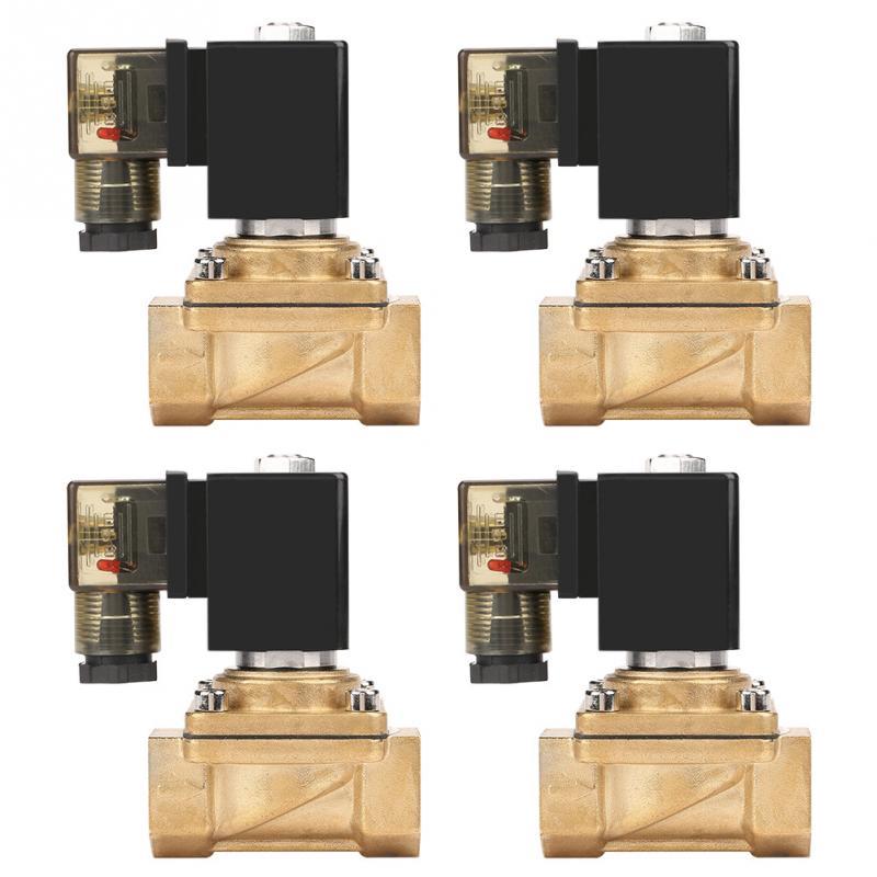 DC12V DC24V AC110V 220V PU220 04 G1 2 Interface 2 Way Direct acting Electric Solenoid Valve