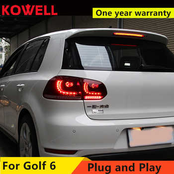 KOWELL Car Styling for VW GOLF 6 MK6 GOLF6 R20 TAIL Lights LED Tail Light LED Rear Lamp DRL+Brake+Reversing+Signal  assembly - DISCOUNT ITEM  20% OFF All Category