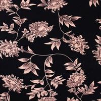 Éthique style noir coton imprimé tissu pour tela patchwork mère enfants robe Bébé Literie Textile Couette À Coudre Tissu par mètre