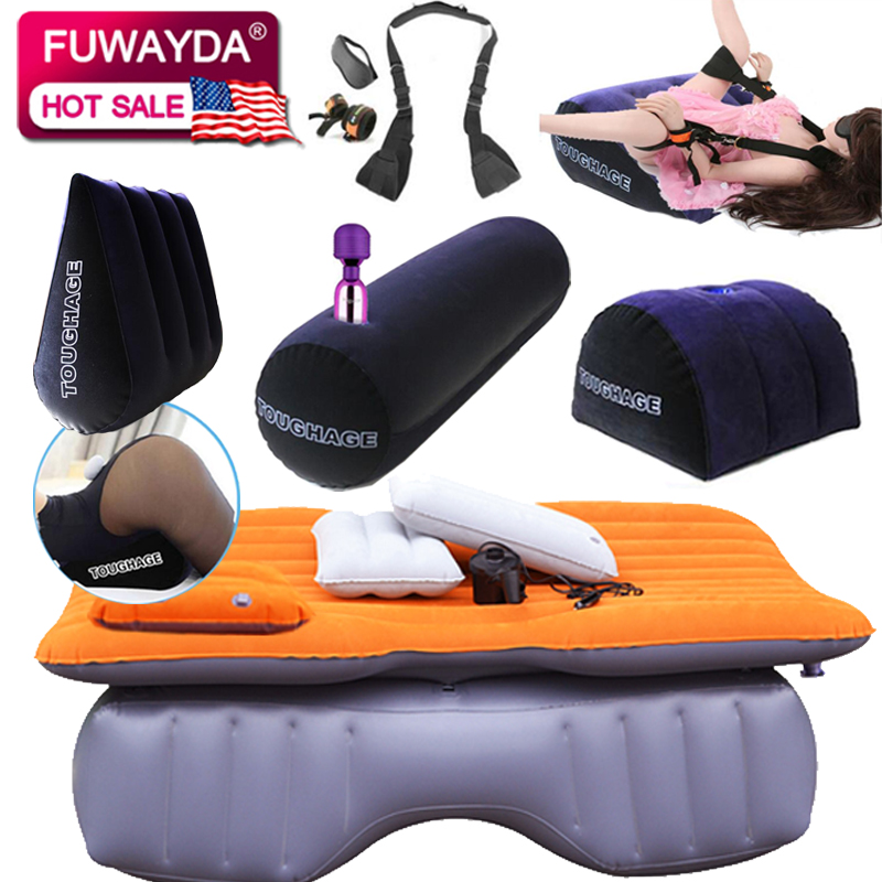 fast shipping new inflatable mattress Car Bed +Air Pump +Pillow car inflatable travel bed car bed car travel thickening bed sofa cama inflable