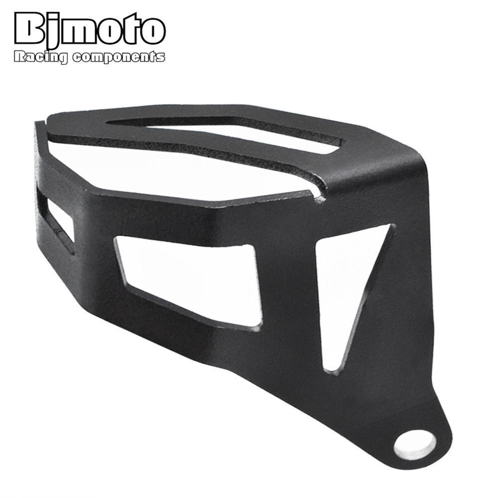 BJMOTO For BMW R1200GS LC 2013-2016 R1200GS LC ADV 2014-2016 Aluminum Rear Fluid Reservoir Protective Cover bjmoto for bmw r1200gs cnc handle bar handlebar riser top cover clamps for bmw r 1200 gs gsa lc adv 2013 2016 motorcycle parts