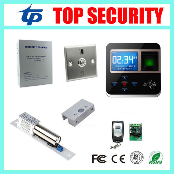 Biometric Smart Card RFID Card Punch Time Attendance Time Clock, 125Khz RFID Card Access Control System F211 Door Control