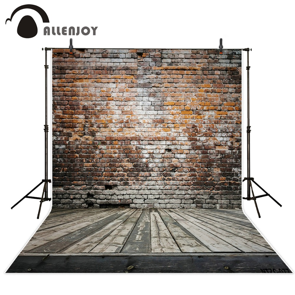 Photography backdrops 300*200cm(10*6.5ft) wall background Broken wooden bricks vinyl photography backdrops photo studio shengyongbao 300cm 200cm vinyl custom photography backdrops brick wall theme photo studio props photography background brw 12