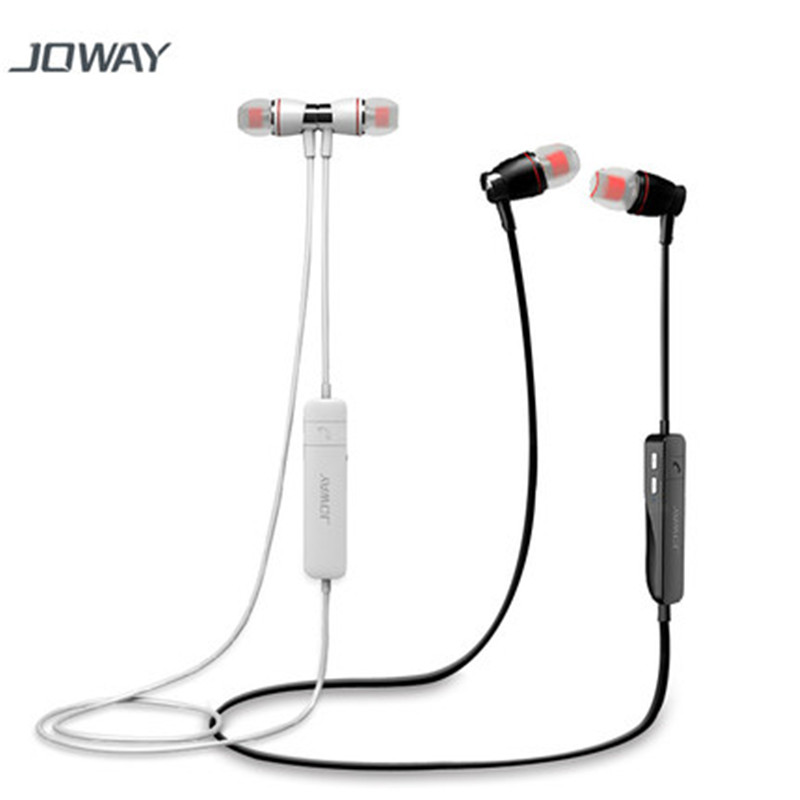 JOWAY H08 unique design stereo Bluetooth headset metal intelligent voice noise reduction HD microphone large compatibility 2016 white and black joway h 08 wireless noise cancelling voice control sports stereo bluetooth v4 0 earphones with microphone