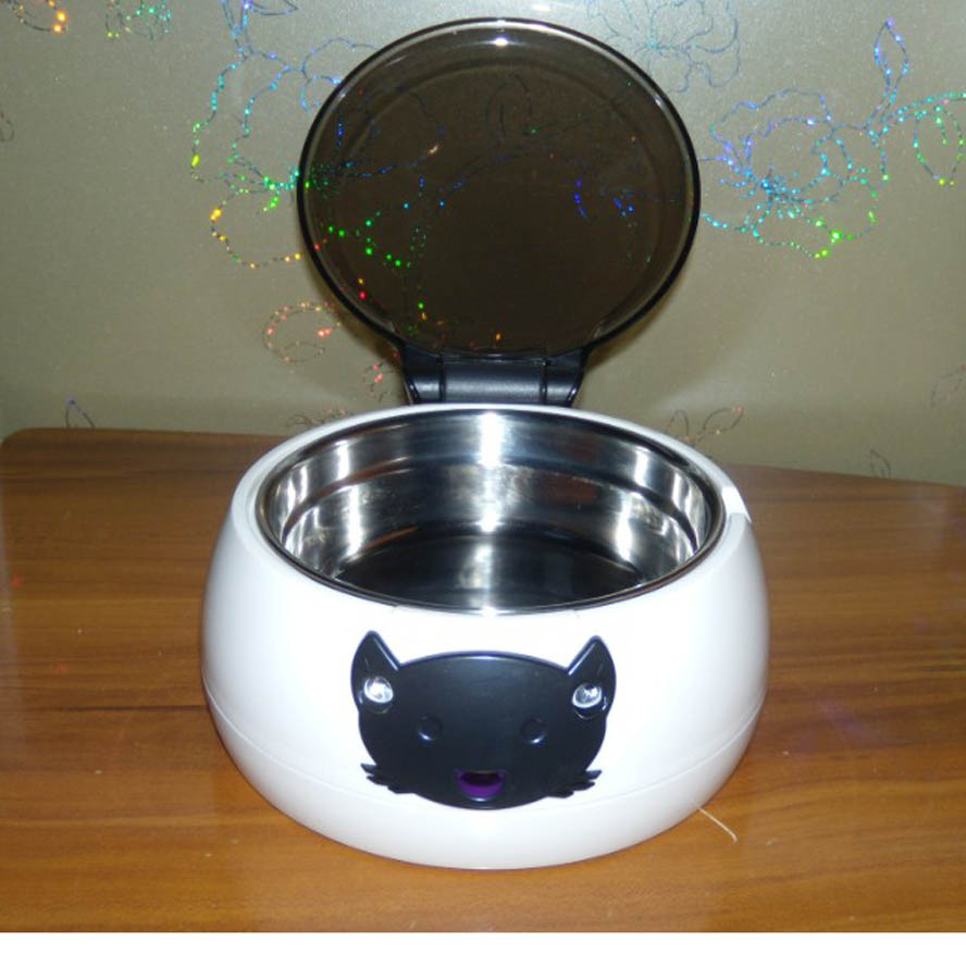 Cat Dish Automatic Motion Sensor Intelligent Pet Bowl