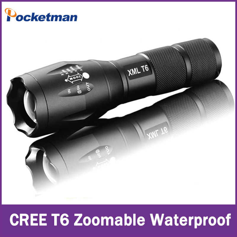 e17 cree xm l t6 3800lumens cree led torch zoomable cree. Black Bedroom Furniture Sets. Home Design Ideas