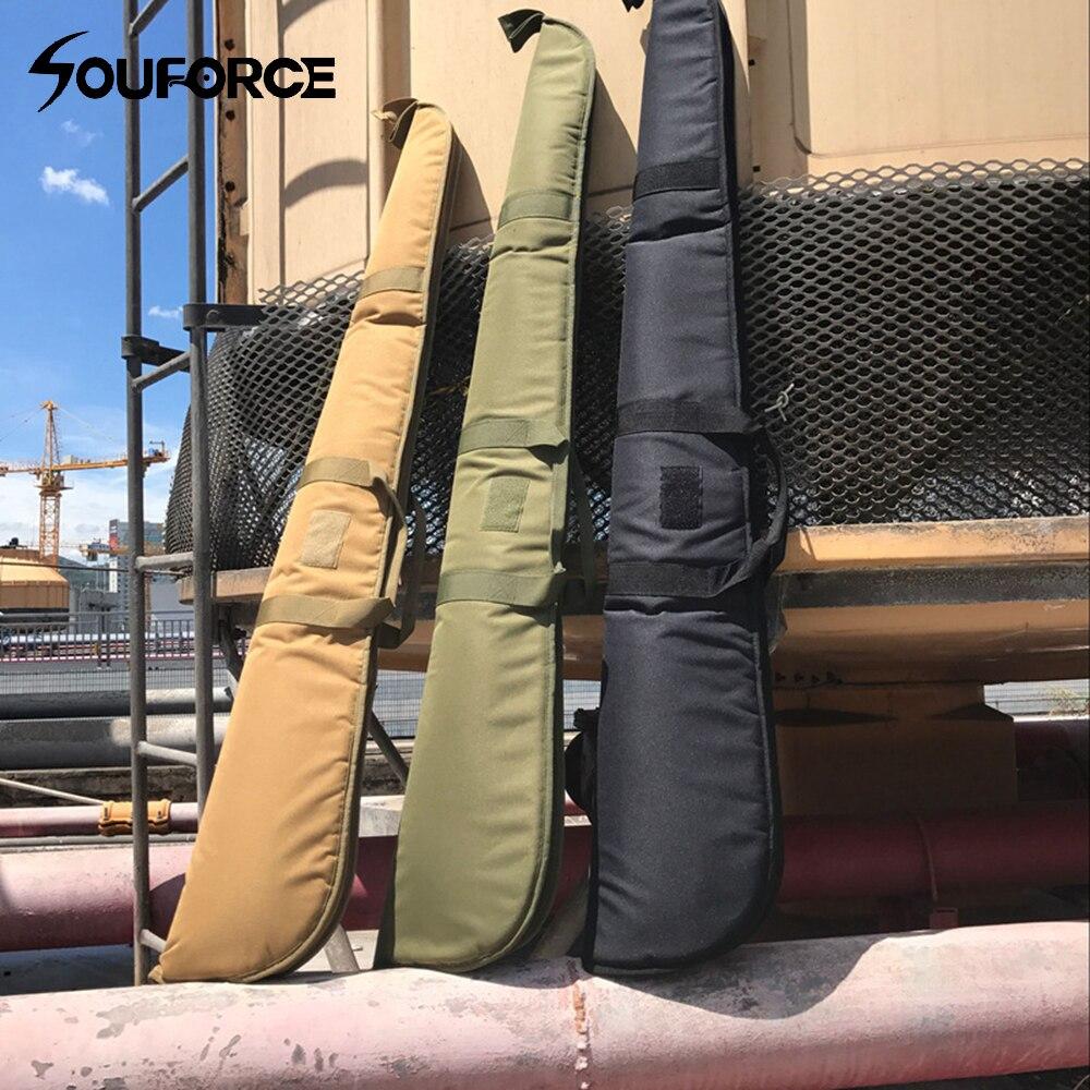Rifle de ar Bolsa com Estofamento Tático Case Airgun Macio Durável Militar Arma Rifle Proteção Transporte Acessório