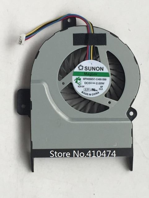 New Laptop fan for ASUS K55 K55A K55X X55V X55A X55C X55U X55VD X45C X45VD R500V cooling Fan thick 10MM P/N MF60090V1-C480-S99
