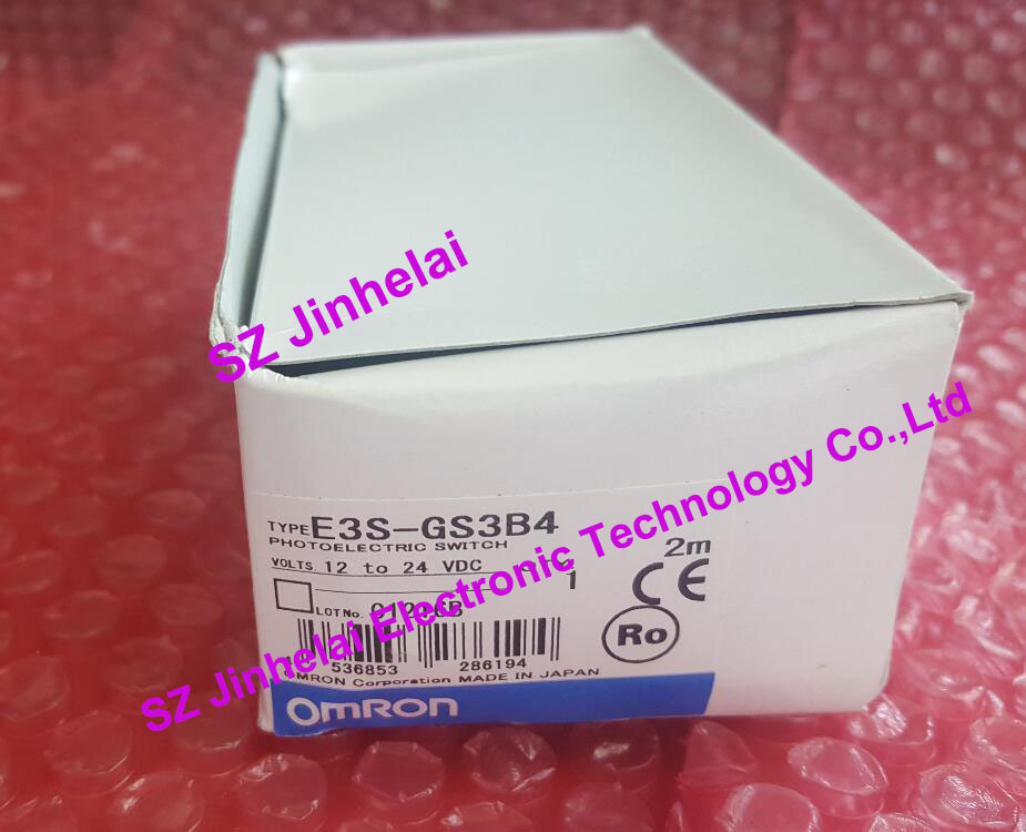 E3S-GS3B4 New and original OMRON Photoelectric switch  PNP [zob] new original omron omron photoelectric switch e3s gs1e4 2m e3s gs3e4 2m