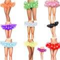 Nuevas Mujeres Del Estilo LED DEL TUTÚ Falda de Baile Sexy Ladies Partido Colorido Adulto de La Manera Encima de La Rodilla Faldas