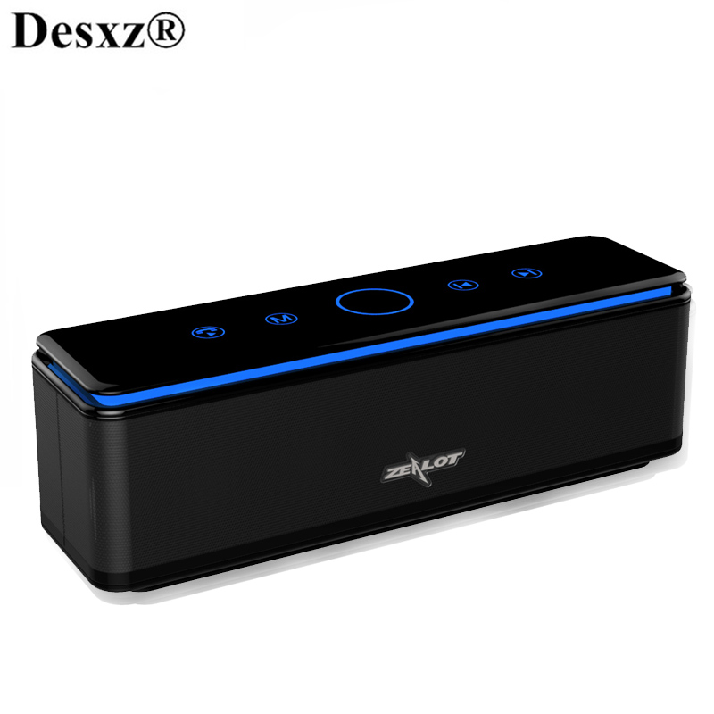 Desxz Portable Bluetooth Speakers wireless Super Bass stereo Bluetooth sound music audio AUX with MIC for iphone android Speaker new portable hifi audio stereo wireless bluetooth headphone with mic speaker for sports music