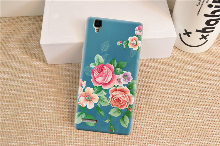 Oppo A35 Case New Patterned Funny Cute Cartoon Lively Back Cover For