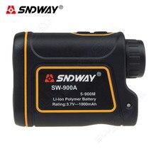 Promo offer SNDWAY SW-900A 900M 8x Laser Range Finder Scope Meter Speed Measurer Telescope Monocular Rangefinder Distance For Hunting