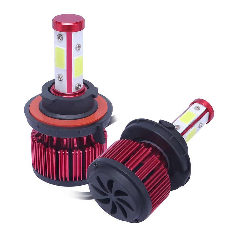1 комплект 50 Вт 8000LM 6500K H13 4-сторонняя лампа для X6-COB Автомобильный светодиодный фары Противотуманные фары яркие фары лампы авто аксессуары для автомобильных огней