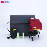 XEAST Professional Level 12Lines 3D Laser Level Self Leveling 360 Horizontal And Vertical Cross Red Laser
