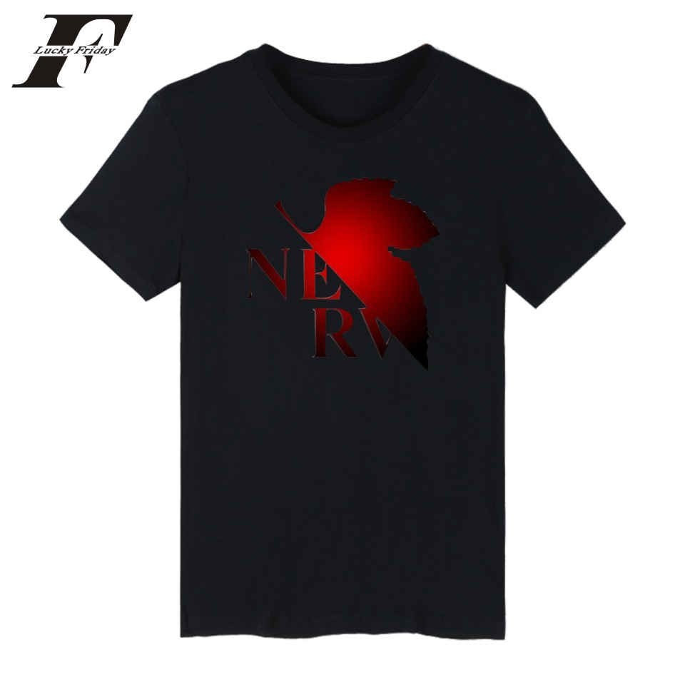 LUCKYFRIDAYF Kpop Evangelion fitness T shirt Men Women Classic EVA Funny t shirts Men Women clothing Tee Shirt in sale in T Shirts from Women 39 s Clothing