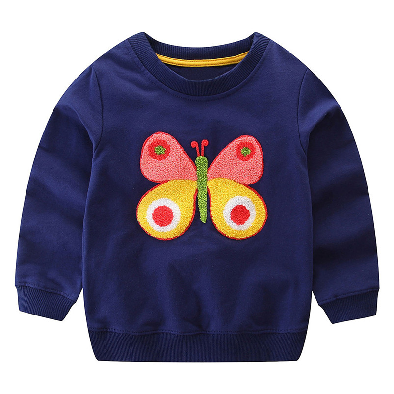 lovely kid clothes girls long sleeve cartoon fox bow print tops hoodie clothes cute clothes camisas hombre manga larga 4de17 (5)