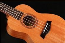 Ukulele Concert Acoustic 23inch Mahogany Hawaiian Guitar Rosewood Musical Instrument Children Gift Kid's Present Small Guitar цены