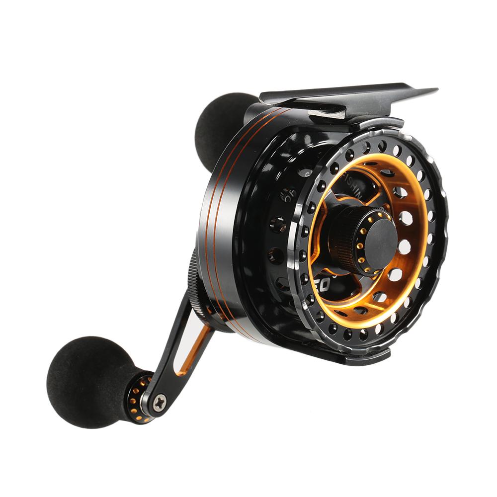Leo right left hand ice fishing reel super smooth 6 1 ball for Ice fishing reels