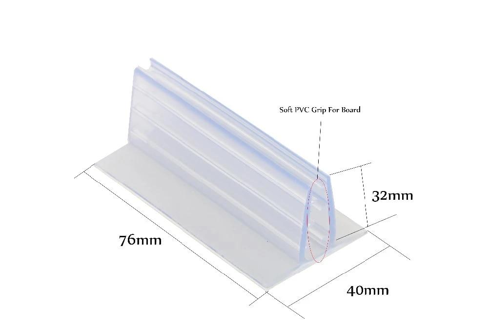 adhesive flush mount holder foam board signage pvc expansion sheet gripper clip wall table shelf rack flag kt card poster grip