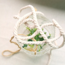 """Handmade  accessories fluid rope decorative rope 100% cotton rope 5mm(0.197"""") 10meter/lot"""